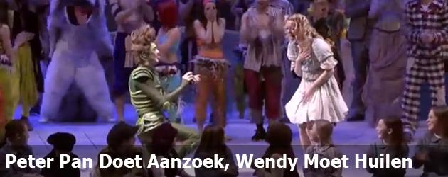 Peter Pan Doet Aanzoek, Wendy Moet Huilen
