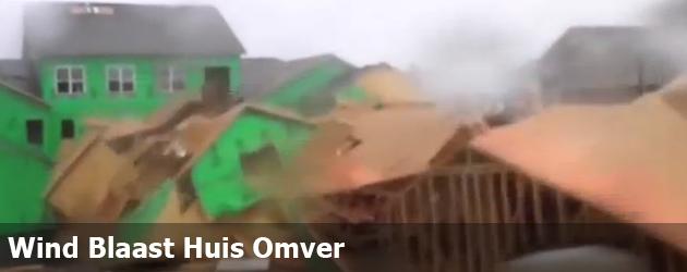 Wind Blaast Huis Omver