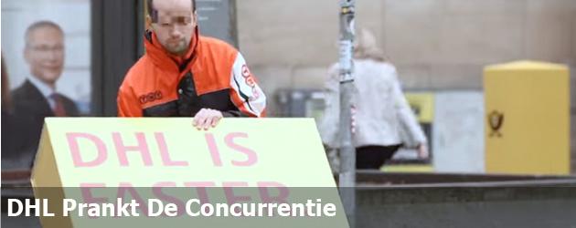 DHL Prankt De Concurrentie