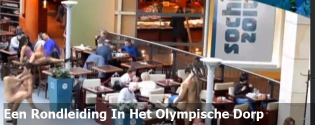 Een Rondleiding In Het Olympische Dorp