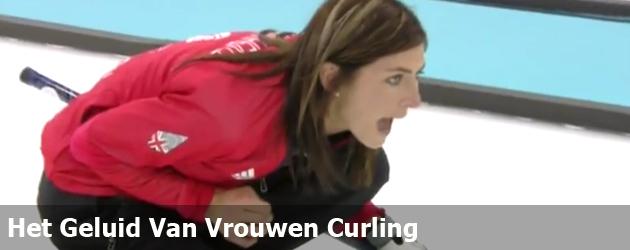 Het geluid Van Vrouwen Curling