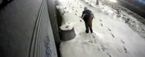 Pas Op Voor Sneeuwschuivers In New York!