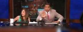 Aardbeving L.A. Live Op TV