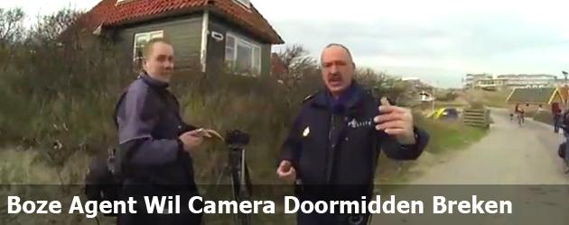 Boze Agent Wil Camera Doormidden Breken
