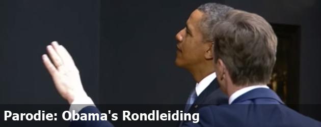 Parodie: Obama's Rondleiding