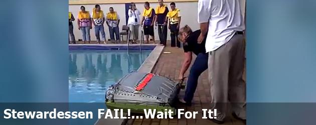 Stewardessen FAIL!…Wait For It!
