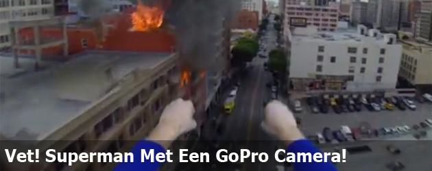 Vet! Superman Met Een GoPro Camera!