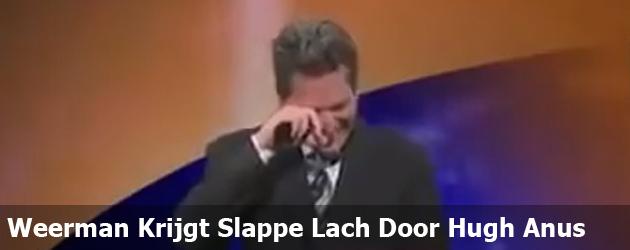 Weerman Krijgt Slappe Lach Door Hugh Anus