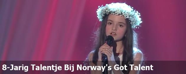 8-Jarig Talentje Bij Norway's Got Talent