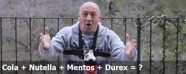 Cola + Nutella + Mentos + Durex = ?