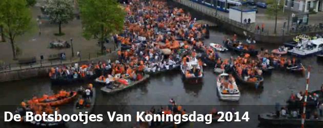 De Botsbootjes Van Koningsdag 2014