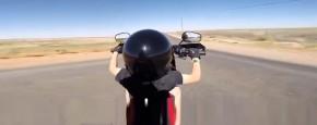 Jochie Van Zes Rijdt Al Op Een Harley