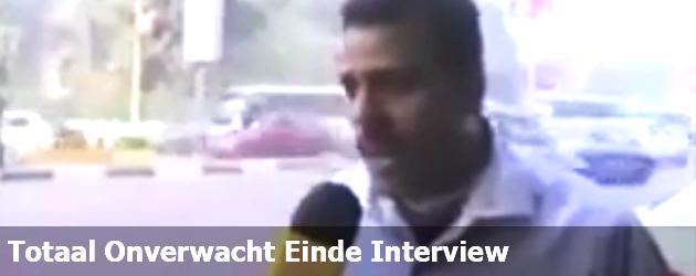 Totaal Onverwacht Einde Interview