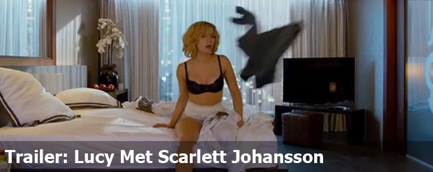 Trailer: Lucy Met Scarlett Johansson