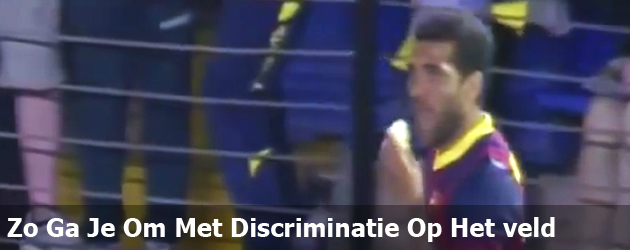 Zo Ga Je Om Met Discriminatie Op Het veld