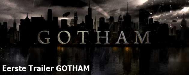 Eerste Trailer GOTHAM