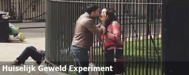 Huiselijk Geweld Experiment