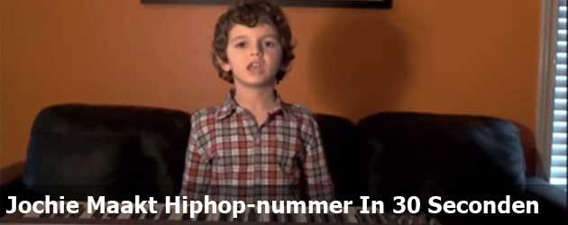 Jochie Maakt Hiphop-nummer In 30 Seconden