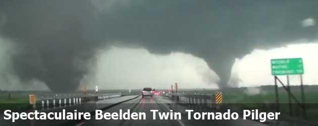 Spectaculaire Beelden Twin Tornado Pilger