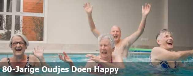80-Jarige Oudjes Doen Happy