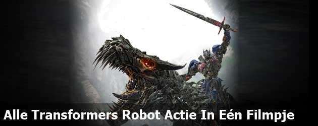Alle Transformers Robot Actie In Eén Filmpje