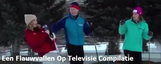 Een Flauwvallen Op Televisie Compilatie