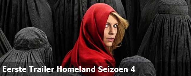 Eerste Trailer Homeland Seizoen 4