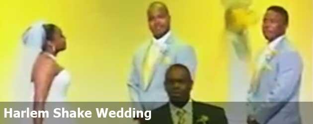 Harlem Shake Wedding
