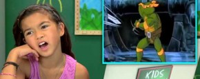 Kids React To Teenage Mutant Ninja Turtles
