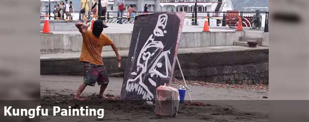 Kungfu Painting