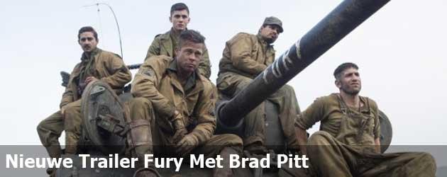 Nieuwe Trailer Fury Met Brad Pitt