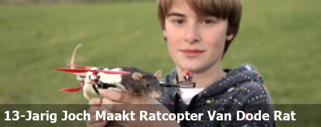 13-Jarig Joch Maakt Ratcopter Van Dode Rat