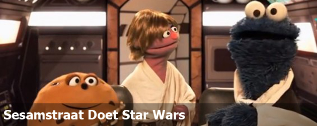 Sesamstraat Doet Star Wars