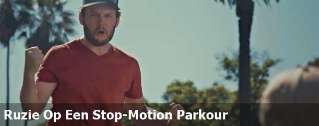 Ruzie Op Een Stop-Motion Parkour