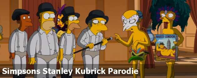 Simpsons Stanley Kubrick Parodie