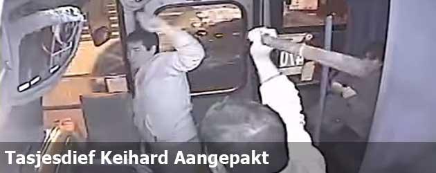 Tasjesdief Keihard Aangepakt