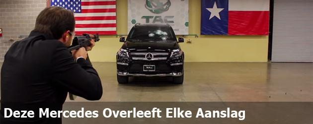 Deze Mercedes Overleeft Elke Aanslag