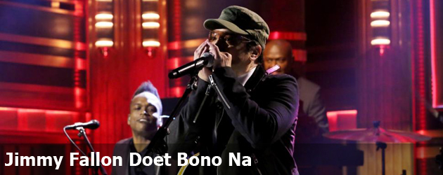 Jimmy Fallon Doet Bono Na