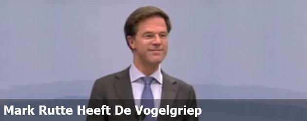 Mark Rutte Heeft De Vogelgriep