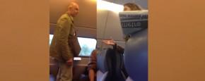 Ruzie In De Trein: Houd Je Bek! Stom Wijf!
