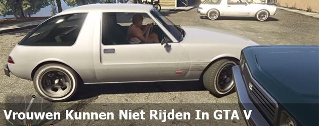 Vrouwen Kunnen Niet Rijden In GTA V