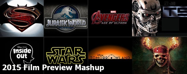 2015 Film Preview Mashup