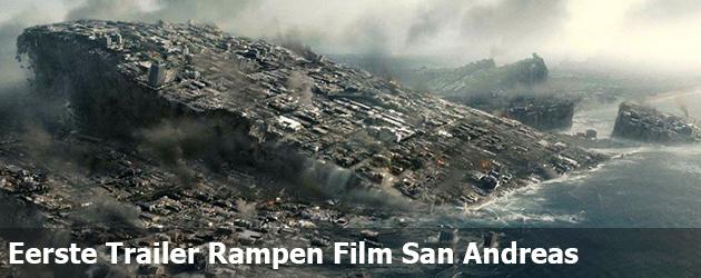 Eerste Trailer Rampen Film San Andreas