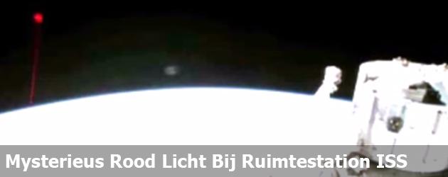 Mysterieus Rood Licht Bij Ruimtestation ISS