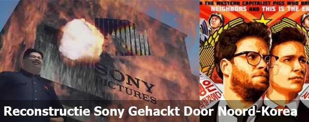 Reconstructie Sony Gehackt Door Noord-Korea