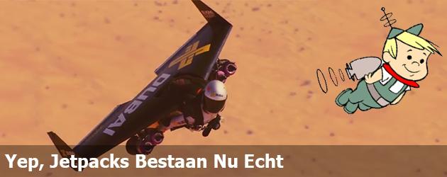 Yep, Jetpacks Bestaan Nu Echt