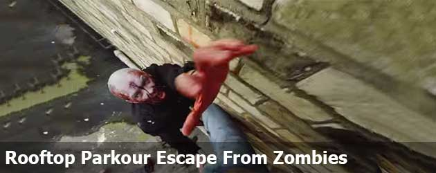 Geweldig! Rooftop Parkour Escape From Zombies