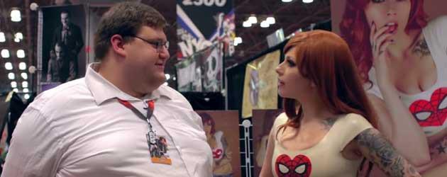 Een Real Life Peter Griffin Op De Comic Con