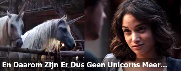 En Daarom Zijn Er Dus Geen Unicorns Meer...