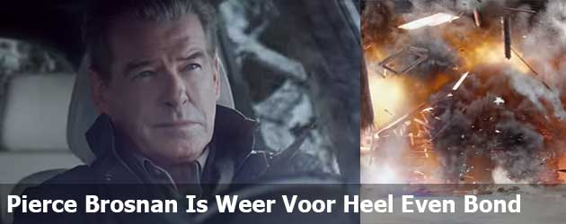 Pierce Brosnan Is Weer Voor Heel Even Bond